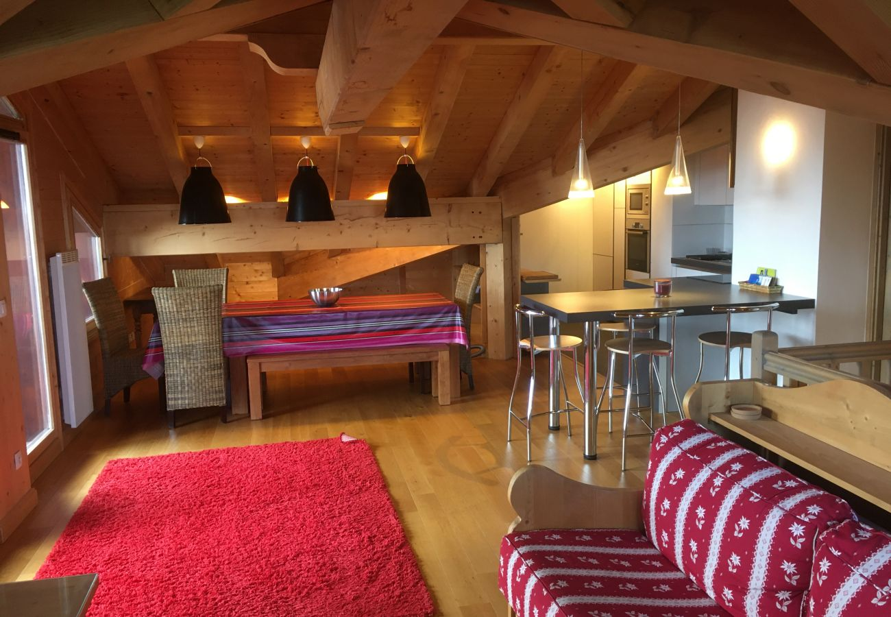 Apartment in Prapoutel - C302 - 80m2 - 4P duplex - 8/12 pers