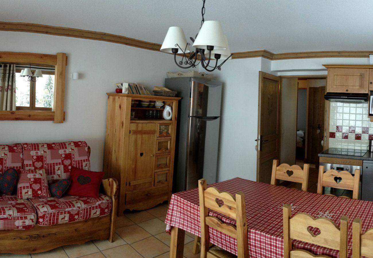 Appartement à Prapoutel - C101 - 60 m2 - 3P+Cab - 6/8 pers
