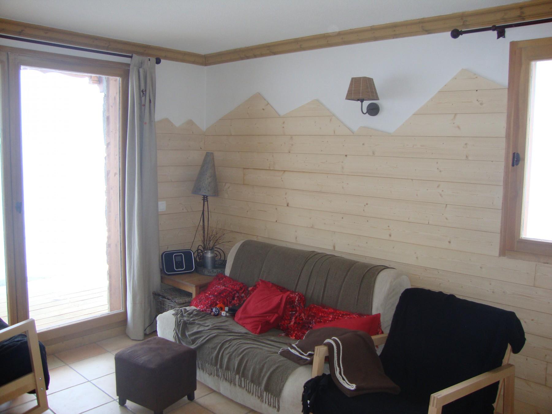 appartements a prapoutel c205 appartement de 60 m2 pour 6 8 personnes. Black Bedroom Furniture Sets. Home Design Ideas