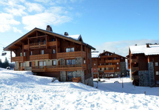 Terrasse face aux pistes pour ce superbe appartement de 7 à 9 couchages