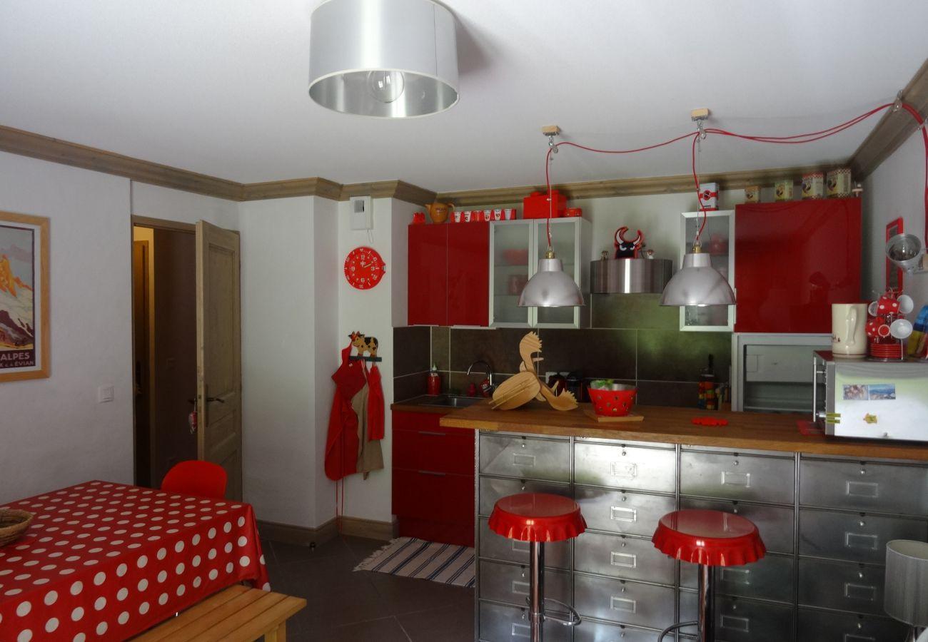 Appartement à Prapoutel - D104 - 42 m2 - 2P+cab - 4/6 pers