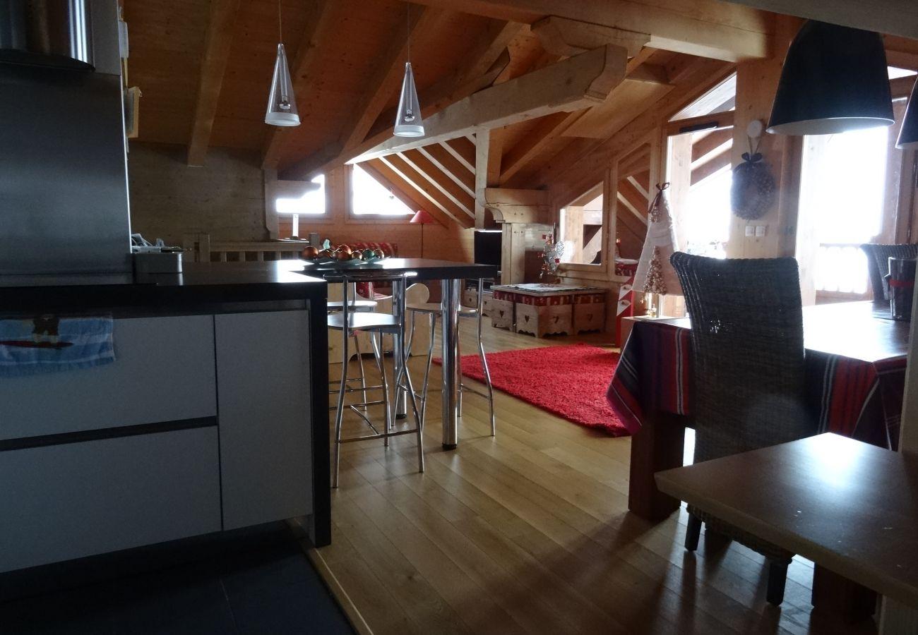 Appartement à Prapoutel - C302 - 80m2 - 4P duplex - 8/12 pers